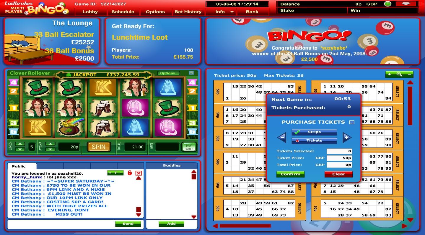 Ladbrokes Free ladbrokes bingo paypal bingo Online Games